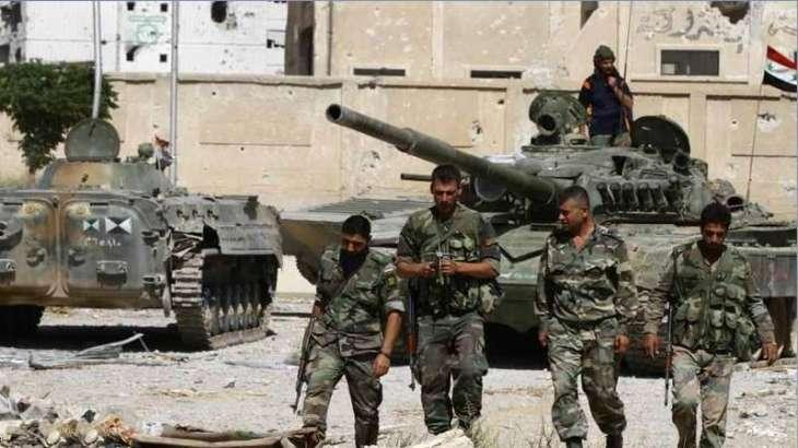 شامی صوبہ ھلب ءَ باغی آنی چیر دست دمگ ءَ بالی اُرش ءَ 16شہری بیران