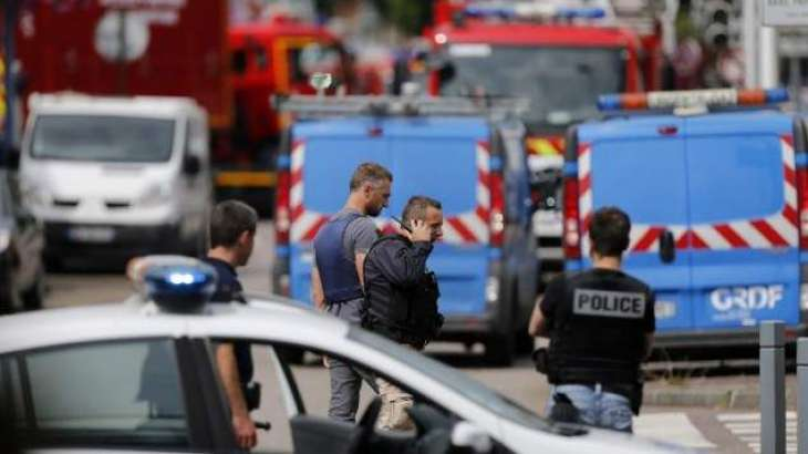 Second hostage fighting for life after north France church attack: ministry
