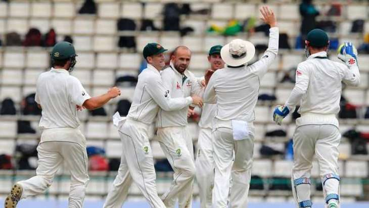 Cricket: Khawaja, Smith steer Aussies to 66-2 at tea
