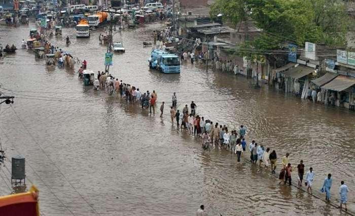 اسلام آباد، راولپنڈی سمیت اتلے پنجاب، فاٹا، خیبرپختونخواتے کشمیر اچ کجھ جہیں تے مینھ ڈو ڈینھ تئیں جاری رہنڑ دا امکان