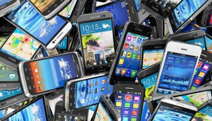 مالی سال 2015-16دے دوران موبائل فونز دی ملکی درآمدات اچ 4.23 فیصد ودھارا