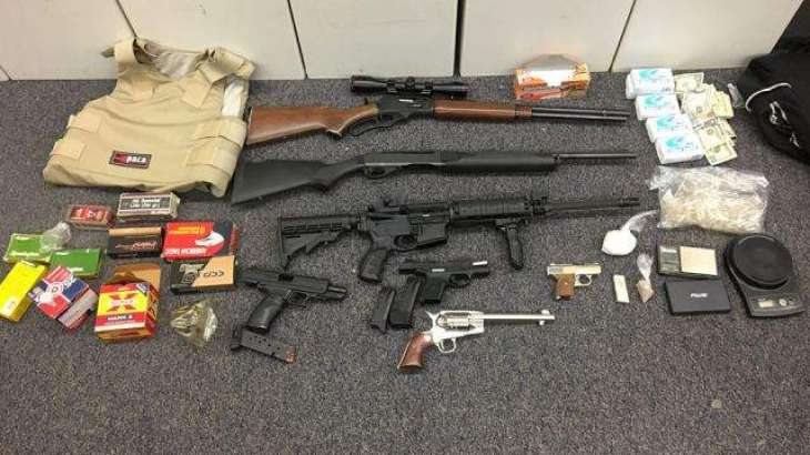 44 arrested, drugs, weapons seized