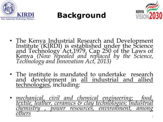 UNIDO launches SEI project for Industries