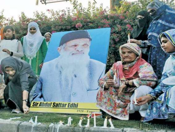 Glowng tribute paid to Edhi at Preston Universty