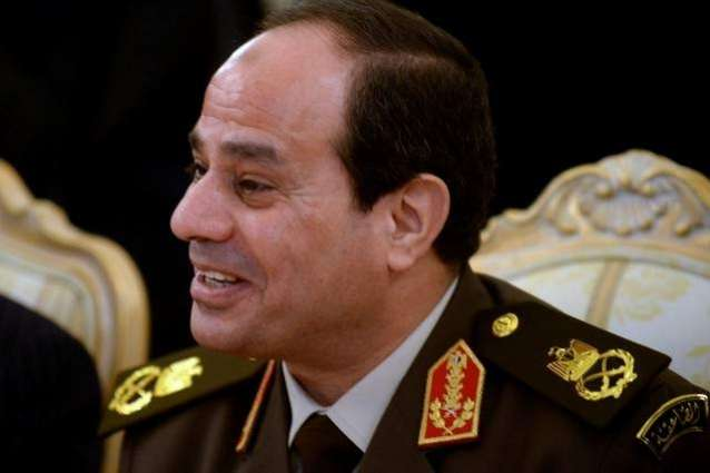Chief of Army Staff General Sharif meeting with Egypt president Fattah El-Sisi