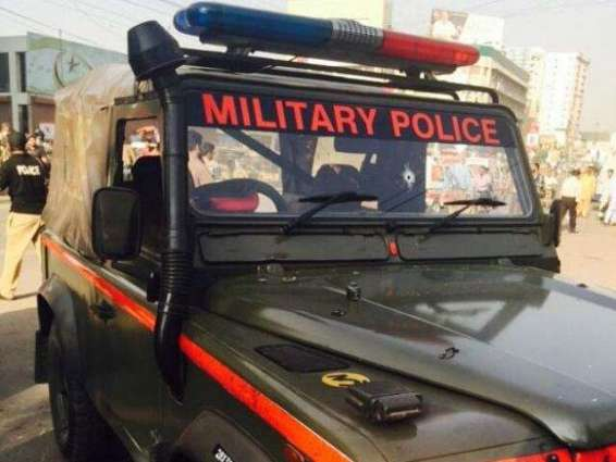 Firing on security forces' vehicle in Saddar