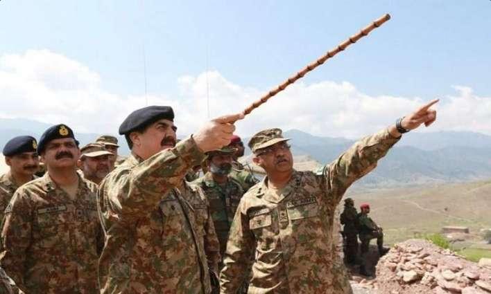 کراچی اچ دہشت گرداں دے حملے نال پاک فوج دے ڈو نینگر شہید تھین ،آئی ایس پی آر