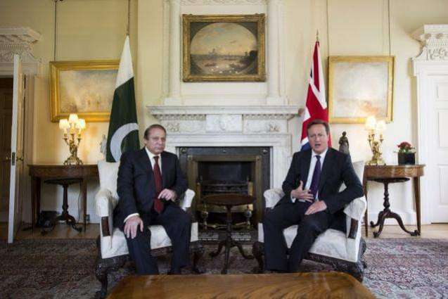 Pakistan to work closely with UK: PM