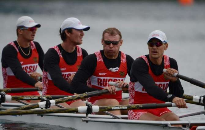 Russian rowers banned from Rio to appeal - federation