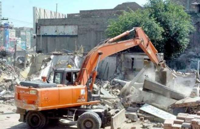 Anti encroachment operation at river embankments