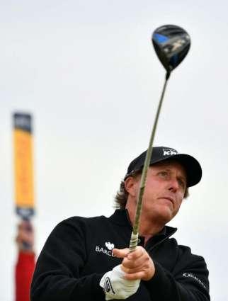 Golf: Mickelson seeks British Open form, better result