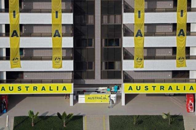Australia installs kangaroo at Olympic village in dig at mayor
