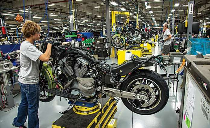 Motorcycle production up by 17% to reach 1.8 mln in 11 months