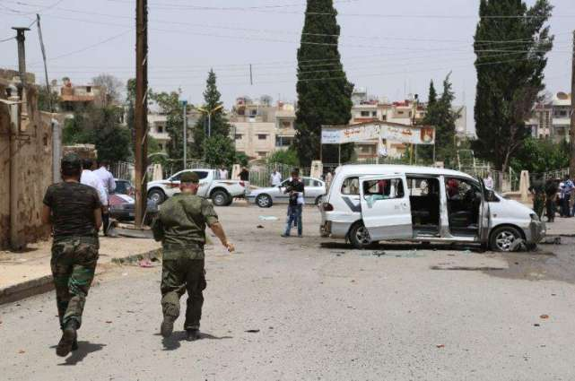 Double bomb attack kills 31 in Syrian Kurdish city: state TV