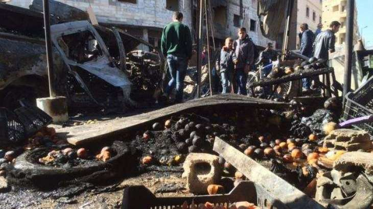 31 dead in double bomb blast in Syria Kurdish city: state TV