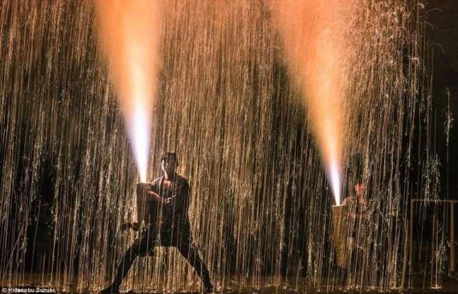 Annual Firework Festival in Tokyo, Japan