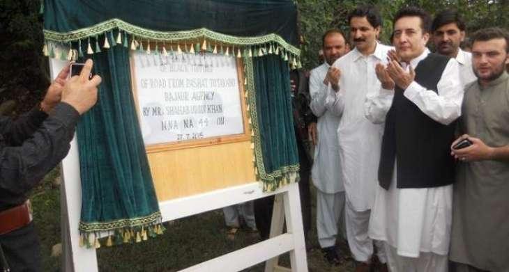 New road inaugurated in Bajaur