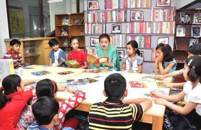 Dr. Tausif visits Children Summer book club at NBF