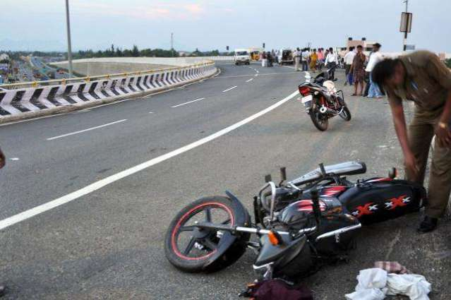 Two killed in road accidents