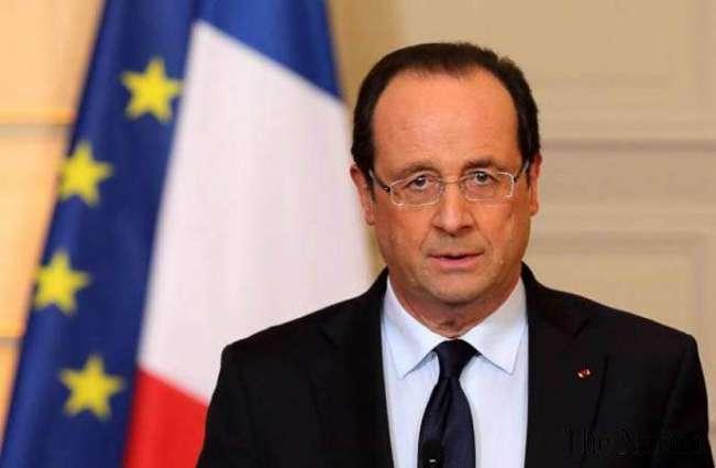 فرانس دا داعش دے خلاف بھرپور جنگ دا اعلان