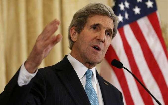 امریکی وزیر خارجہ جان کیری دی فلپائنی ہم منصب نال ملاقات