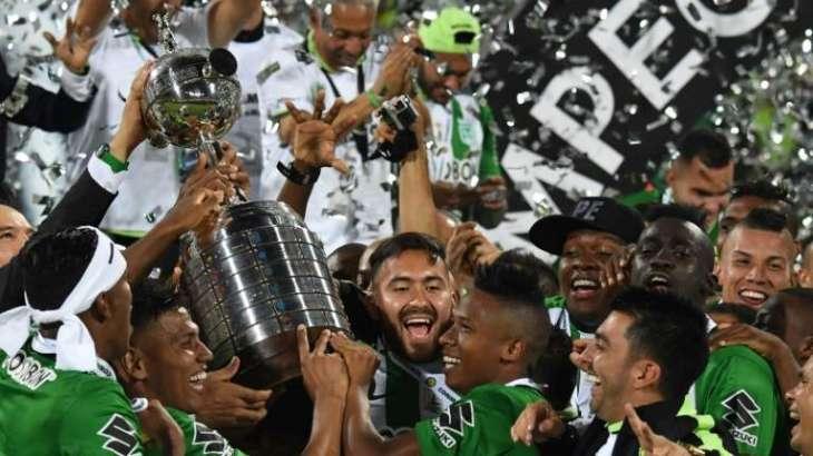 Football: Atletico Nacional win Copa Libertadores