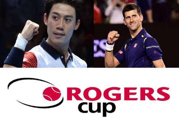 Rogers Cup, Novak Djokovic and Kei Nishikori qualified for the 3rd round