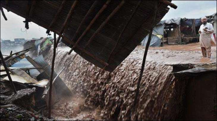 KPK floods and collapsing buildings killed 9 people, 9 injured
