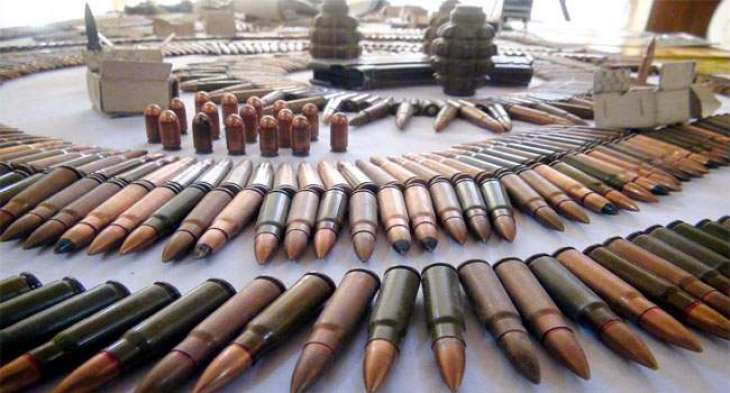 FC recovers arms, explosive and dead body from Ghalanai