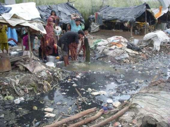 Sanitation problem irks G-7 residents