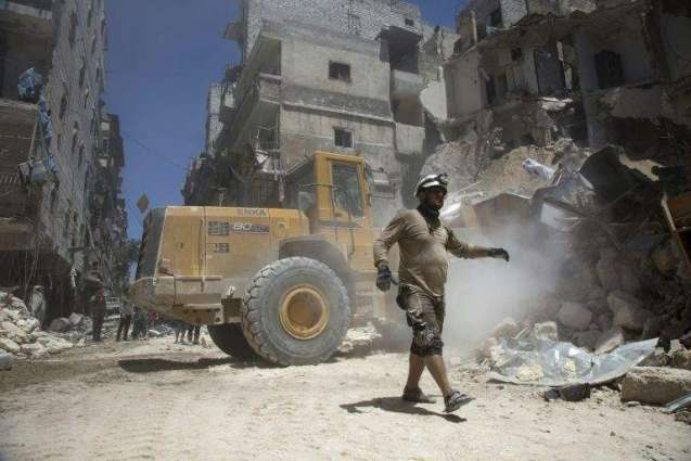 Russia says opening humanitarian corridors around Aleppo