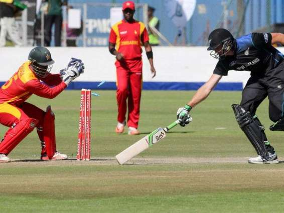 Cricket: Zimbabwe v New Zealand scoreboard