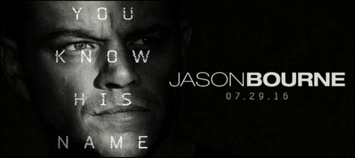 Hollywood film Jason Bourne's new trailer has been released