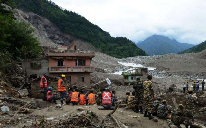 Nepal, India floods leave more than 90 dead