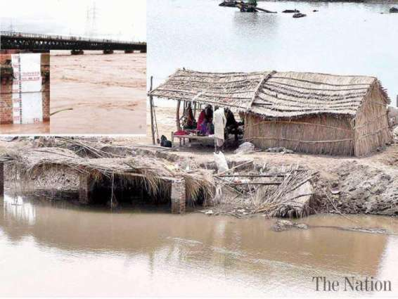 Nullah breach inundates 40 villages in Pasrur