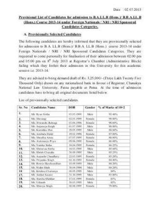 Provisional FCCI voter lists displayed