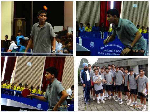 Table Tennis Tournament from August 10