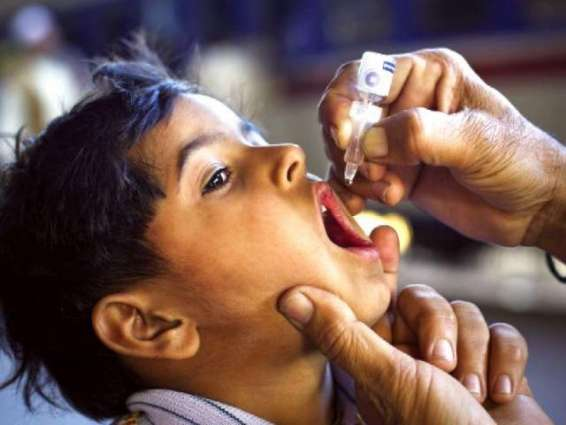 Over 400,000 children administered polio drops