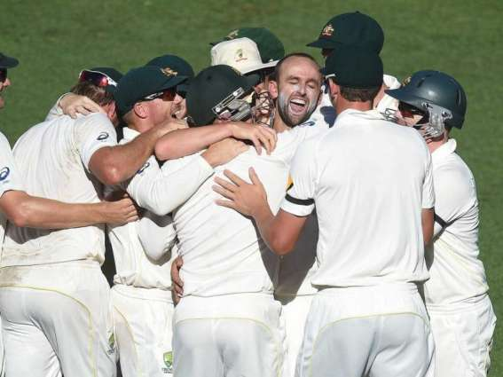 CORRECTED:  Cricket: Australia's Lyon enters 200 wicket-club