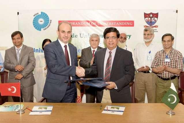 UVAS, DAMEN sign MoU to establish pasture at Ravi Campus