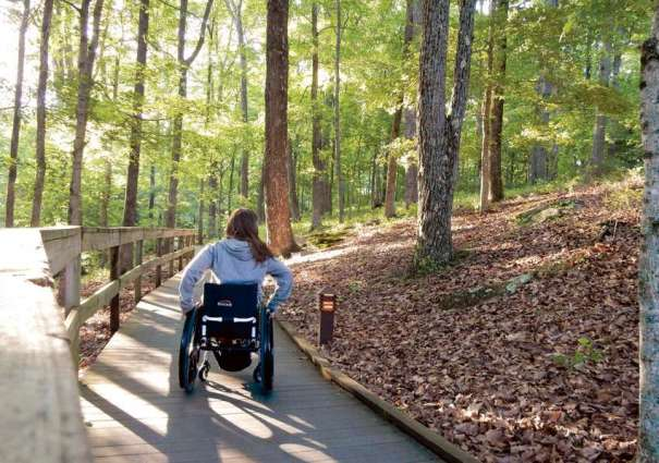 Trails for disabled players of twin cities on Friday