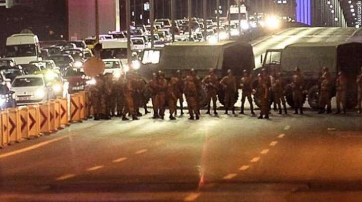 Turkish Govt. has dismissed 1700 military men.