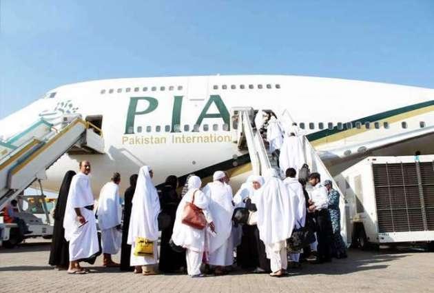 فیصل آباد توں عازمین حج دی پہلی پرواز 4اگست کوں جدہ ویسی