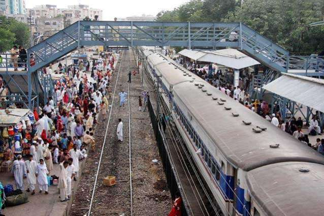 Railways' infrastructure being improved to offer better travelling facilities: Saad