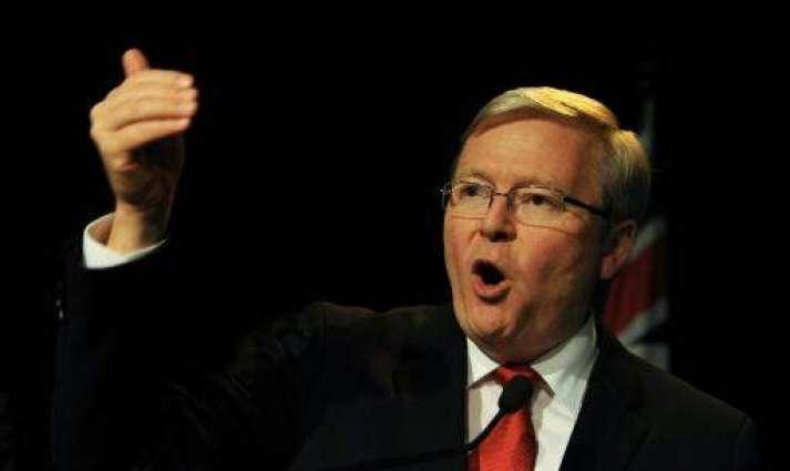 Australia slaps down ex-PM Rudd's bid for top UN job