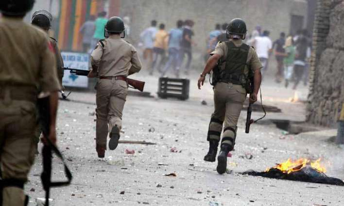 Indian forces misusing explosive weapons against innocent