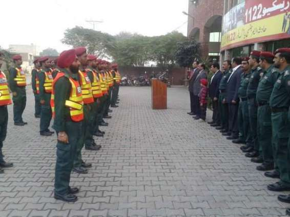 DG Rescue 1122 visits districts