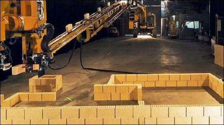 Unique robot for house construction in Australia