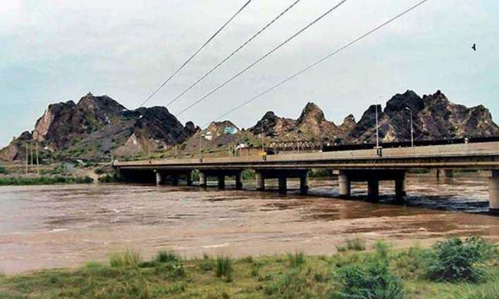 Rivers Indus, Ravi, Kabul flow in low flood