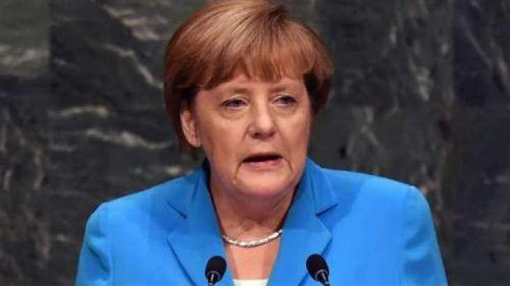 مہاجراں توں متعلق جرمن پالیسی کائناں بدلسی، چانسلرانجیلا مرکل